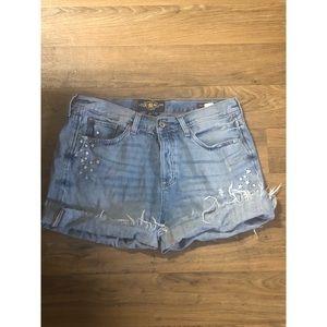 Lucky brand boyfriend shorts